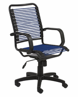 Eurostyle Bradley-High Back Bungie Blue/Graphite Black Office Chair