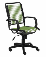 Eurostyle Bradley-High Back Bungie Green/Graphite Black Office Chair