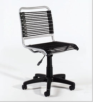 Eurostyle Bungie Black/Aluminum Low Back Office Chair