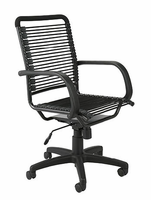 Eurostyle Bungie Black/Graphite Black High Back Office Chair