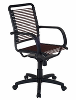 Eurostyle Bungie High Back Office Chair in Brown/Graphite Black