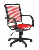 Eurostyle Bungie High Back Office Chair in Red/Graphite Black