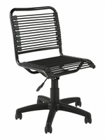 Eurostyle Bungie Low Back Office Chair in Black/Graphite Black