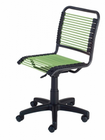 Eurostyle Bungie Low Back Office Chair in Green/Graphite Black