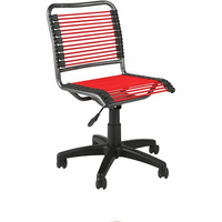 Eurostyle Bungie Low Back Office Chair in Red/Graphite Black