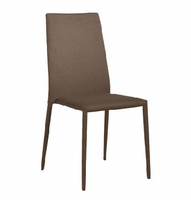 Eurostyle Chessa Brown Side Chair (Set of 4)