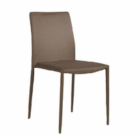 Eurostyle Chessa-LB Brown Side Chair (Set of 4)