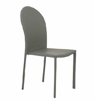 Eurostyle Coco Gray Side Chair (Set of 4 )