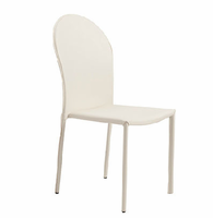 Eurostyle Coco White Side Chair (Set of 4 )