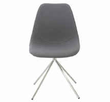 Eurostyle Dax Gray Side Chair (Set of 4)