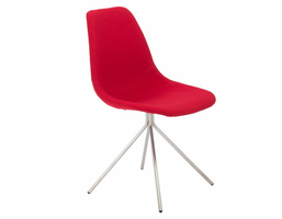 Eurostyle Dax Red Side Chair (Set of 4)