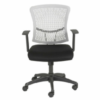 Eurostyle Finley Gray/Black Office Chair