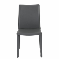 Eurostyle Hasina Gray Side Chair (Set of 2)