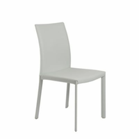 Eurostyle Hasina White Side Chair (Set of 2)
