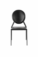 Eurostyle Isabella Black Side Chair (Set of 2 )