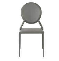 Eurostyle Isabella Gray Side Chair (Set of 2 )