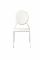 Eurostyle Isabella White Side Chair (Set of 2 )