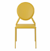 Eurostyle Isabella Yellow Side Chair (Set of 2 )