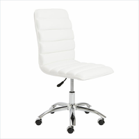 Eurostyle Jaleh White Office Chair