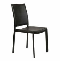 Eurostyle Kate Black Side Chair ( Set of 4 )