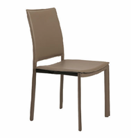 Eurostyle Kate Taupe Side Chair ( Set of 4 )