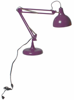 Eurostyle Lalla Purple Lamp