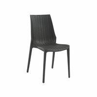 Eurostyle Lucrezia Anthracite Side Chair (Set of 6)