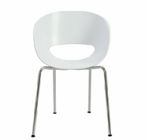 Eurostyle Michele White Side Chair (Set of 2 )