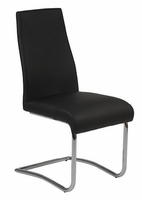 Eurostyle Rooney Black Low Back Chair (set of 2)