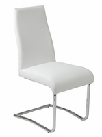 Eurostyle Rooney White Low Back Chair (set of 2)