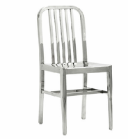 Eurostyle Sandi Stainless Steel Side Chair (Set of 2)