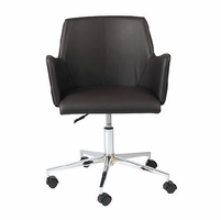 Eurostyle Sunny Brown/Chrome Office Chair
