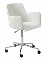 Eurostyle Sunny White/Chrome Office Chair