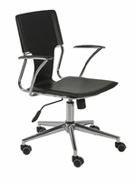 Eurostyle Terry Black/Chrome Office Chair