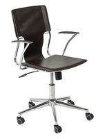Eurostyle Terry Brown/Chrome Office Chair