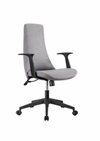 Eurostyle Tupac W/Fabric - Gray/Black Office Chair