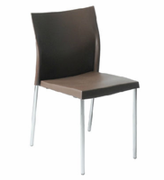 Eurostyle Yeva Brown Side Chair (Set of 2)
