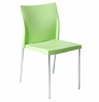 Eurostyle Yeva Green Side Chair (Set of 2)
