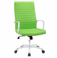 Finesse Highback Office Chair, Bright Green [FREE SHIPPING]