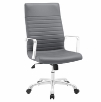 Finesse Highback Office Chair, Gray [FREE SHIPPING]