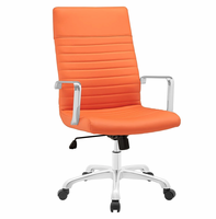Finesse Highback Office Chair, Orange [FREE SHIPPING]
