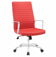 Finesse Highback Office Chair, Red [FREE SHIPPING]
