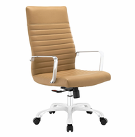 Finesse Highback Office Chair, Tan [FREE SHIPPING]