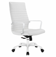 Finesse Highback Office Chair, White [FREE SHIPPING]