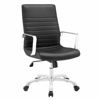 Finesse Mid Back Office Chair, Black [FREE SHIPPING]