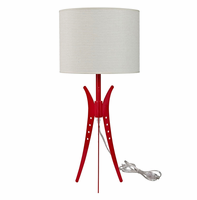 Flair Table Lamp, White [FREE SHIPPING]