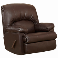 Flash Furniture Contemporary Ty Chocolate Leather Rocker Recliner