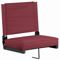Flash Furniture Game Day Seats® by Flash with Ultra-Padded Seat in Maroon
