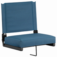 Flash Furniture Game Day Seats® by Flash with Ultra-Padded Seat in Teal