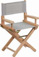 Flash Furniture Kid Size Directors Chair in Gray